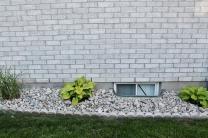 Exterior window landscaping