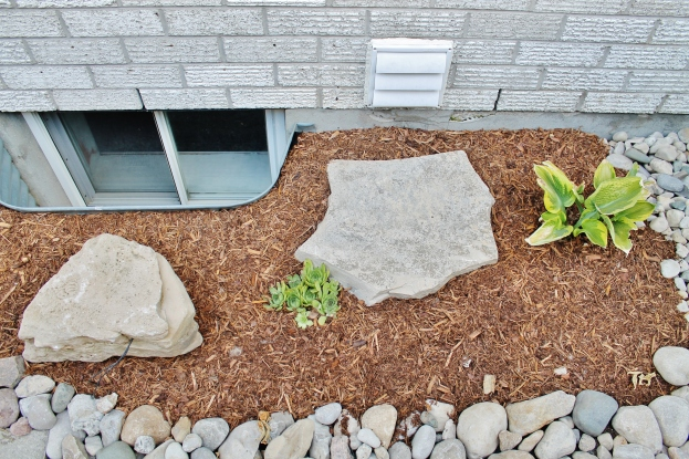 Exterior window landscaping